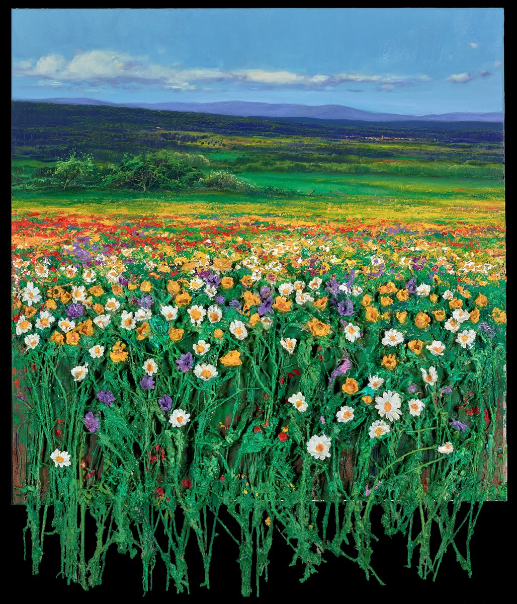Campo en Primavera by ramon vila -  sized 31x32 inches. Available from Whitewall Galleries